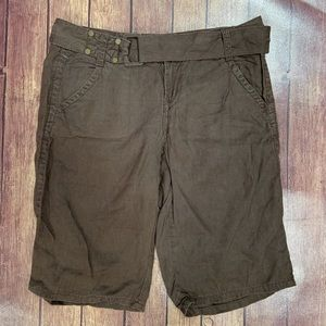 Calvin Klein Brown Long Shorts